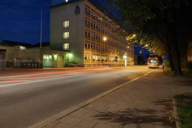 The police station in Eskilstuna by photodeus