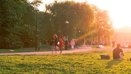 Sunny park by photodeus