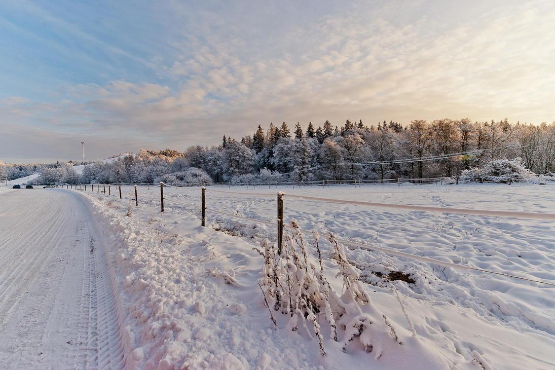 Winter landscape 2 by photodeus