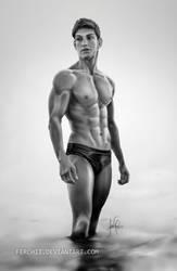 Male body by Ferchii