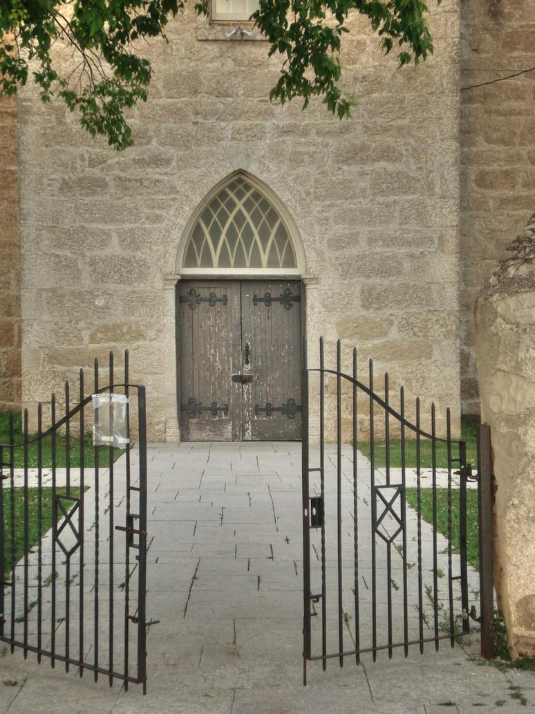 Churchyard Gate by midnightstouchSTOCK