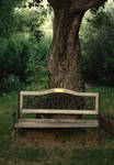 The Weathered Bench