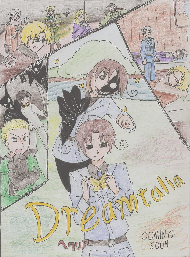 Dreamtalia Movie Poster by LGBroductions