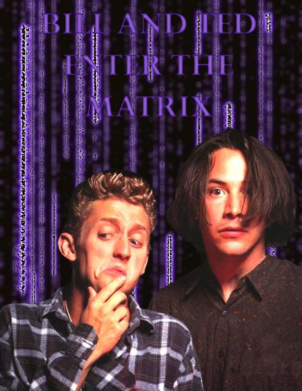 Dude, enter the matrix by kitsune3