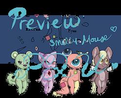 Smelly Mega Pixel Base! (P2U) by Smelly-Mouse