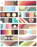 F2U Color Palettes! Brown by Smelly-Mouse