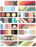 F2U Color Palettes! Brown