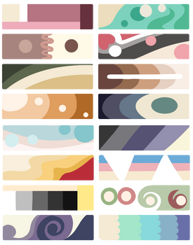 F2U Color Palettes! Cream