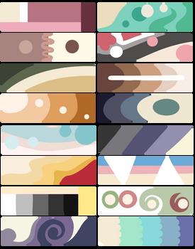 F2U Color Palettes! Cream