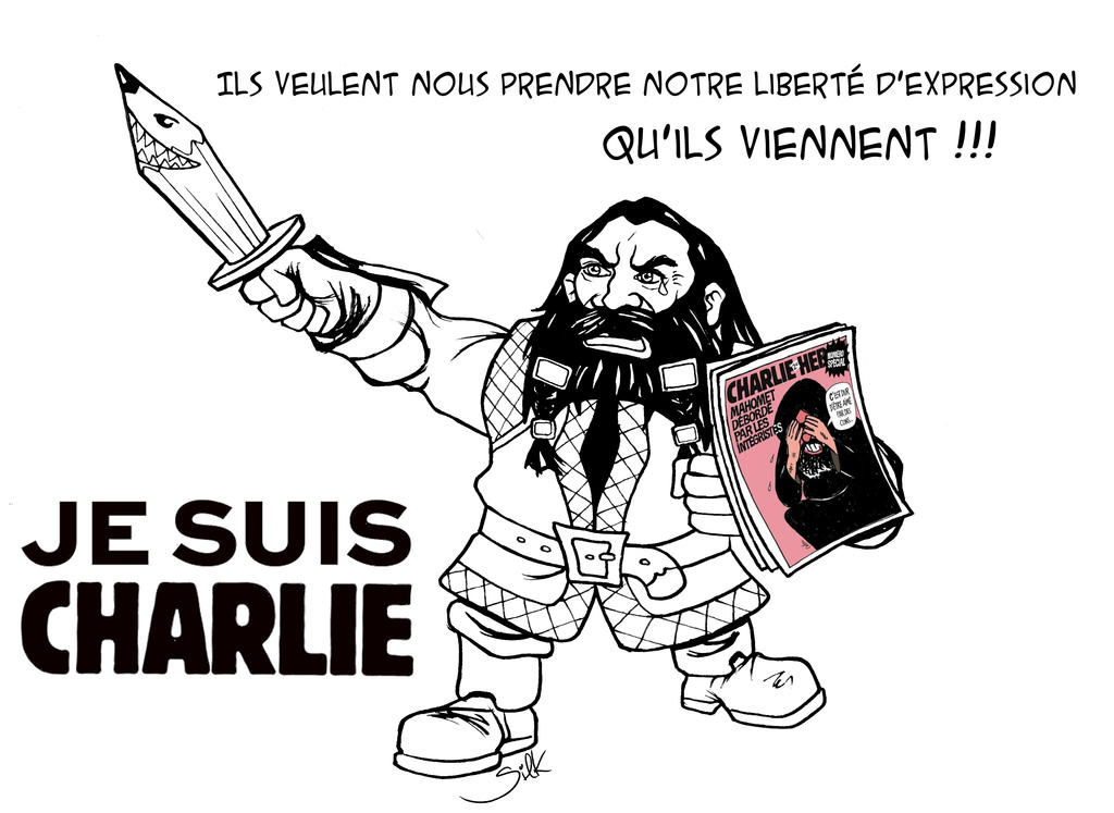 #JesuisCharlie by SilkJo
