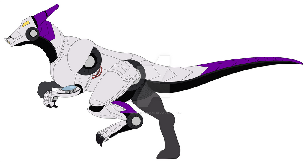 Fedex Dragon (dinosaur?) Delivery Tug Model by MotherMarowak
