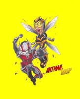Antman and the Wasp by 2hotty7