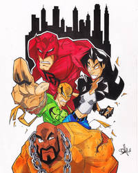 The Defenders by 2hotty7