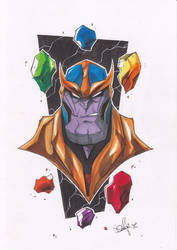 Thanos by 2hotty7