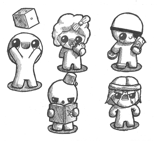 Binding Of Isaac! By Foxelbox On DeviantArt