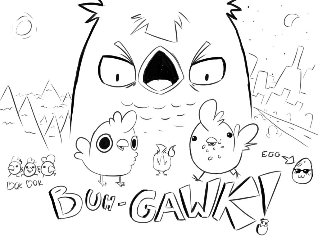 Buh-Gawk! by Foxelbox