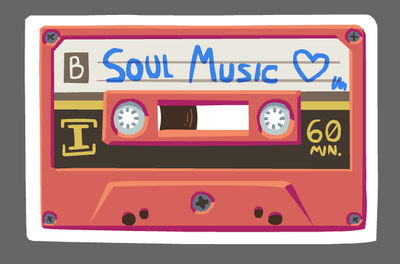 Soul music is the true music by Foxelbox