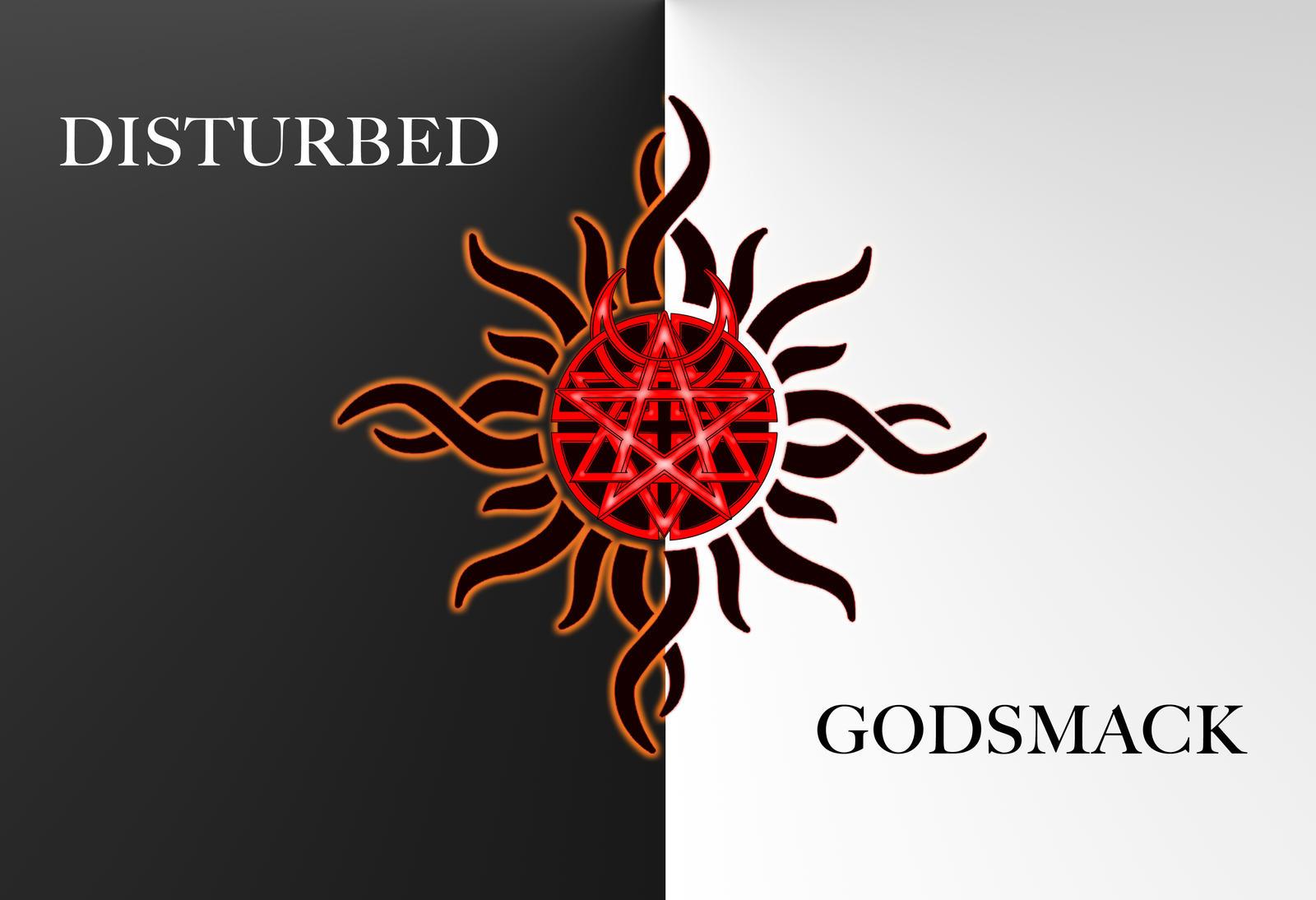 disturbed godsmack wallpaper by southerndisturbedone on