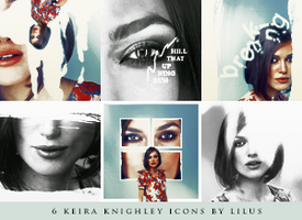 Keira Knightley icons by imLilus