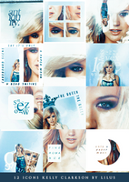 Kelly Clarkson Icons by imLilus