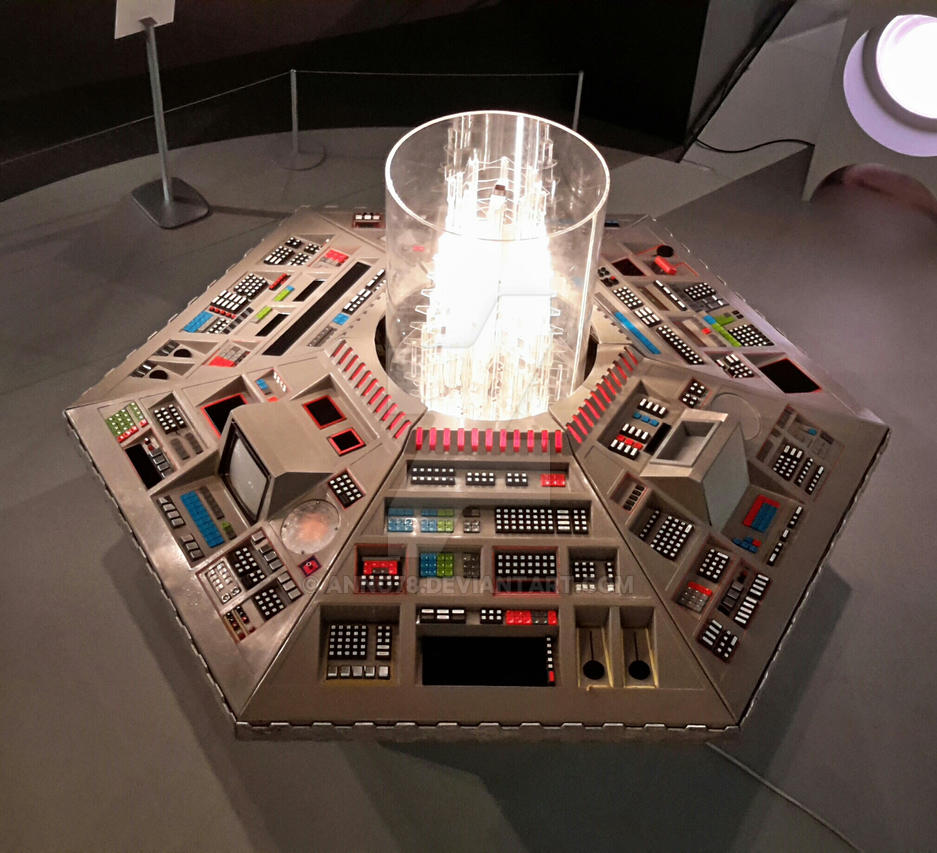 tardis console a new perspective by anno78 on deviantart