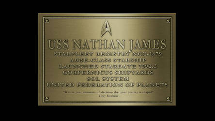Nathan James Dedication Plaques By Anno78 On Deviantart