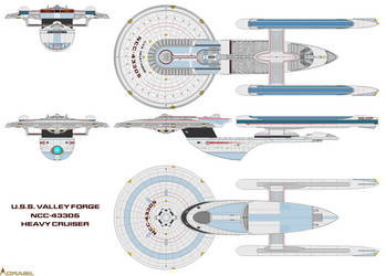 USS Valley Forge (2357- ) by anno78