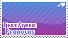 They/Them pronouns by poppliio