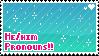 He/him Pronouns by babykttn
