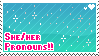 She/Her Pronouns by babykttn