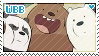 We Bare Bears stamp by poppliio