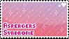 Aspergers stamp