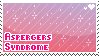 Aspergers stamp by poppliio