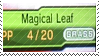 Magical Leaf by poppliio