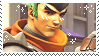 Young Genji stamp