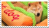 the hotdog shibe by pulsebomb