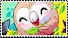Rowlet stamp by babykttn
