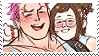 Mei x Zarya stamp by poppliio