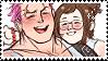 Mei x Zarya stamp by pulsebomb