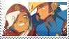 Ana and Pharah stamp by pulsebomb