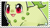 Chikorita stamp by poppliio