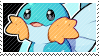 Mudkip stamp by poppliio