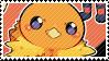 Torchic stamp by babykttn