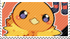 Torchic stamp by pulsebomb