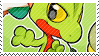 Treecko stamp by pulsebomb