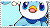 Piplup stamp by poppliio