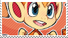 Chimchar stamp by pulsebomb