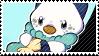 Oshawott stamp by poppliio