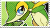 Snivy stamp by pulsebomb