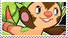 Chespin stamp by pulsebomb